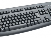 Клавиатура Logitech Deluxe Keyboard 250 PS/2, Black по цене 150 руб.